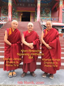 Three Khenpo las
